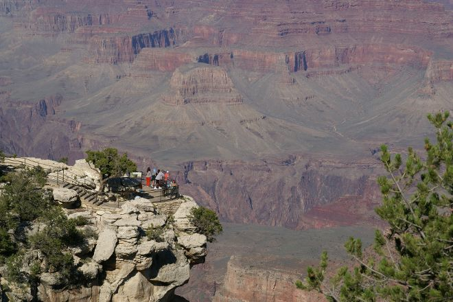 Rim Trail, Grand Canyon National Park, United States