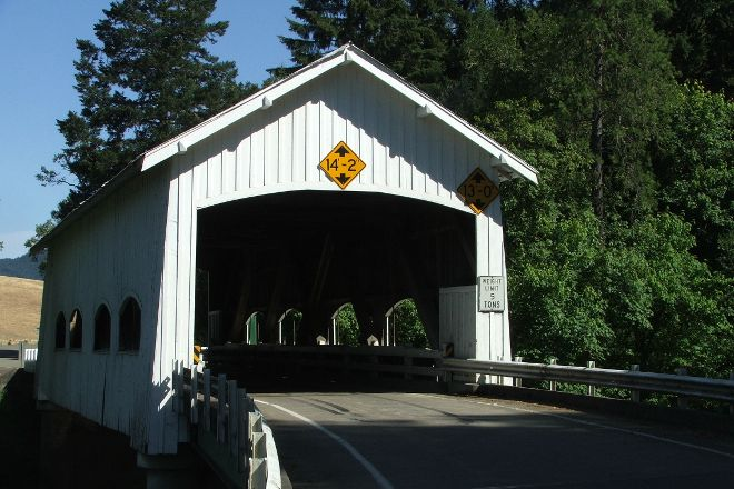 Rochester Covered Bridge, Sutherlin, United States