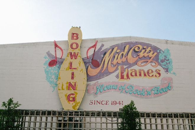 Rock n Bowl - Mid City Lanes, New Orleans, United States