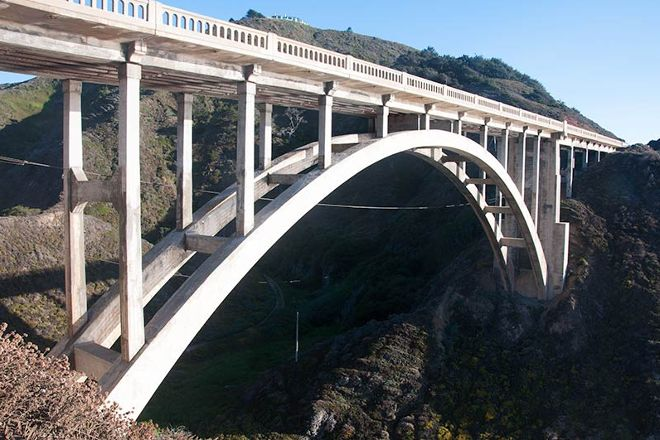 Rocky Creek Bridge, Big Sur, United States