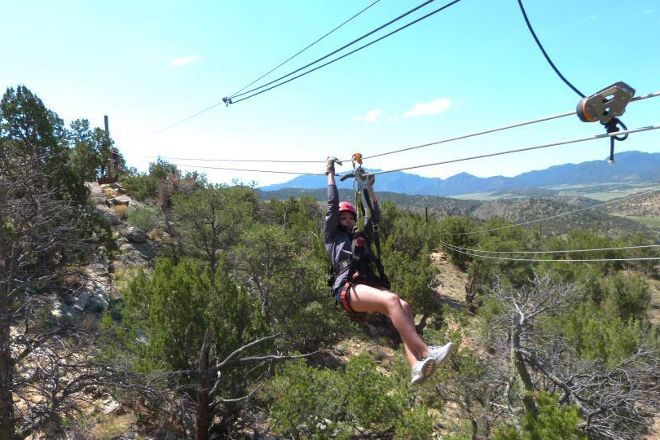 Royal Gorge Zip Line Tours, Canon City, United States