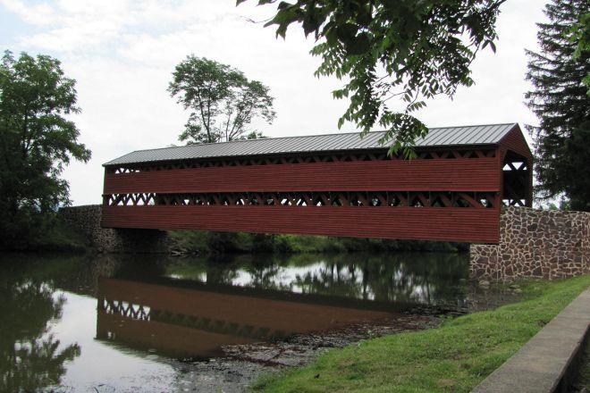 Sachs Covered Bridge, Gettysburg, United States