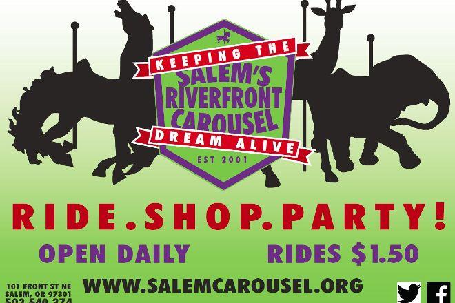 Salem's Riverfront Carousel, Salem, United States