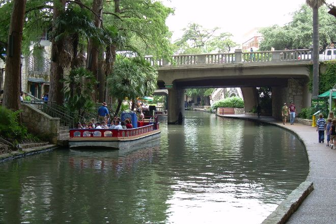 The San Antonio River Walk, San Antonio, United States