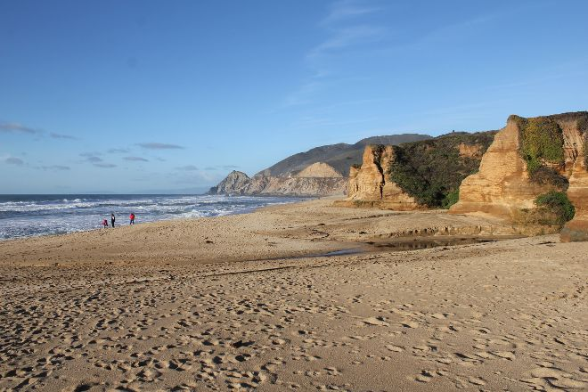San Gregorio State Beach, San Gregorio, United States