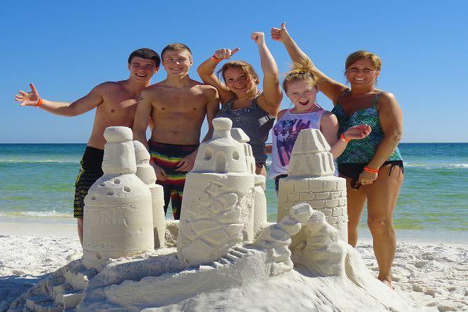 Beach Sand Sculptures, Seaside, United States