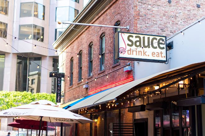 Sauce: Belden Place, San Francisco, United States