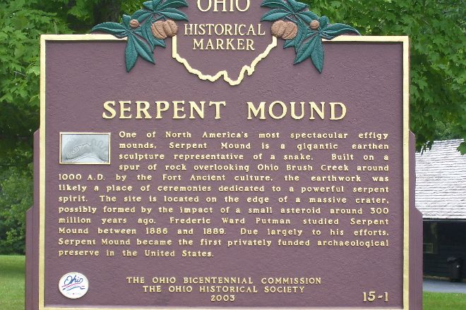 Serpent Mound, Peebles, United States