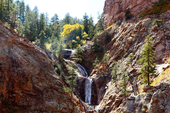 The Broadmoor Seven Falls, Colorado Springs, United States