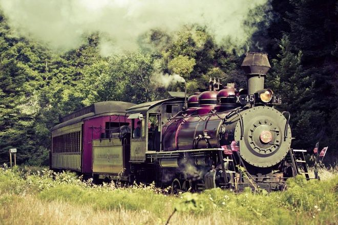 Skunk Train, Fort Bragg, United States