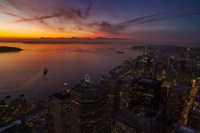 Sky View Observatory, Seattle, United States