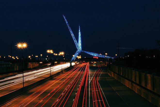 Skydance Bridge, Oklahoma City, United States