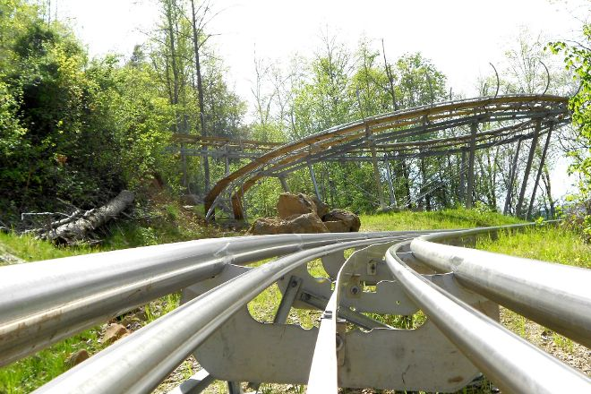 Smoky Mountain Alpine Coaster, Pigeon Forge, United States