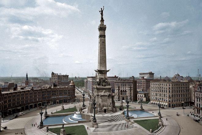 Soldiers & Sailors Monument, Indianapolis, United States