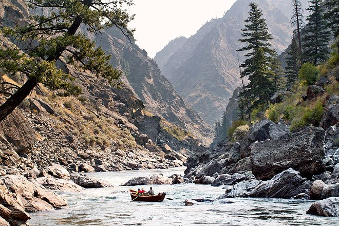 Solitude River Trips, Salmon, United States