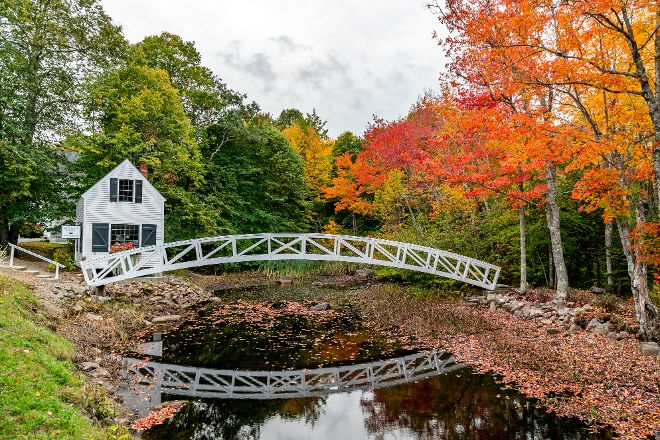 Somesville Historical Museum and Gardens, Mount Desert Island, United States