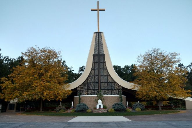 Sorrowful Mother Shrine, Bellevue, United States
