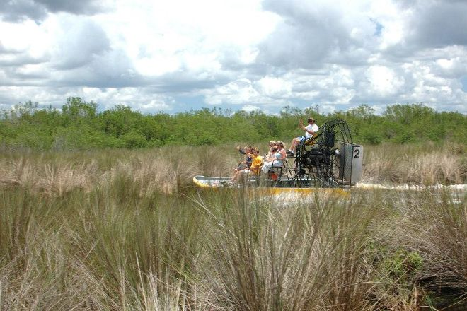 Speedy's Airboat Tours, Everglades City, United States