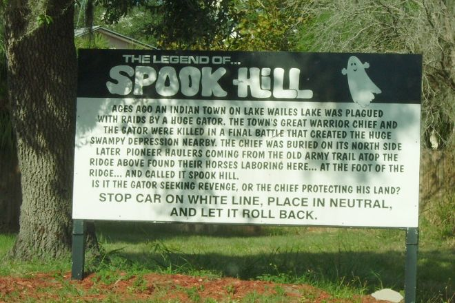 Spook Hill, Lake Wales, United States