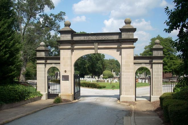 Springwood Cemetery, Greenville, United States