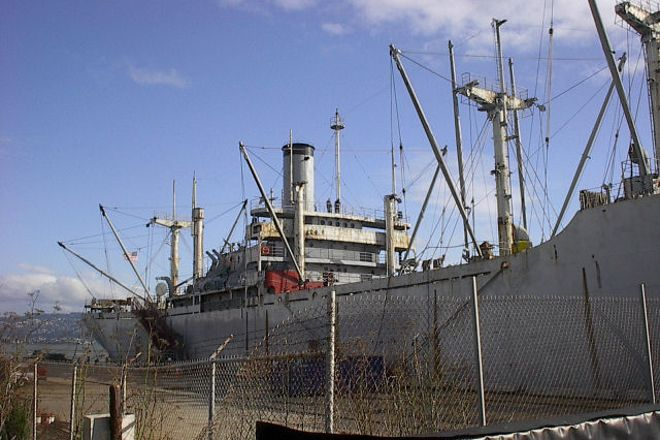 SS Red Oak Victory, Richmond, United States