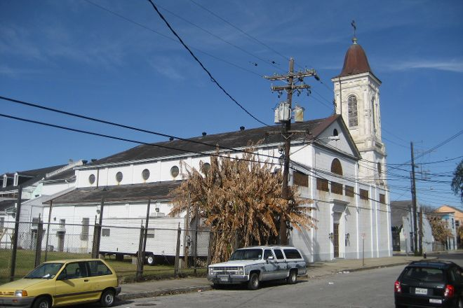 St. Augustine Church, New Orleans, United States