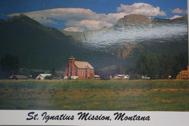 St. Ignatius Mission, Saint Ignatius, United States