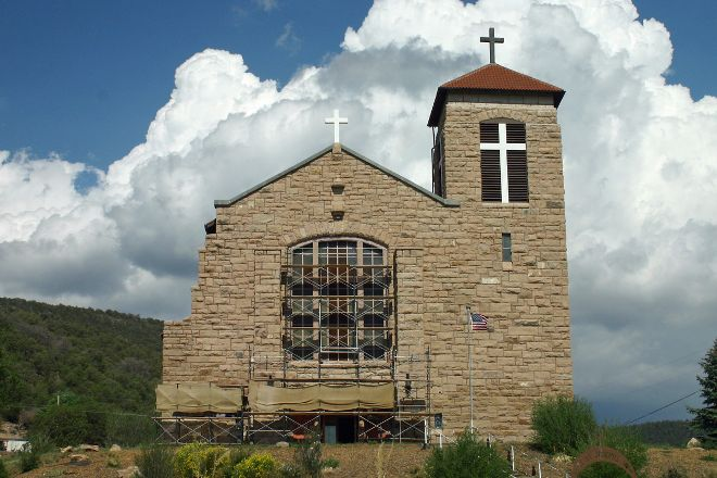 St. Joseph Apache Mission Church, Mescalero, United States