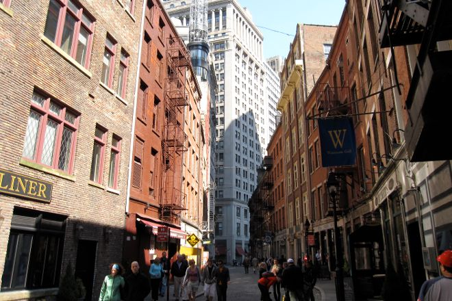 Stone Street Historic District, New York City, United States