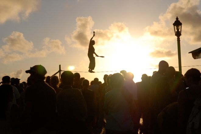 Sunset Celebration, Key West, United States