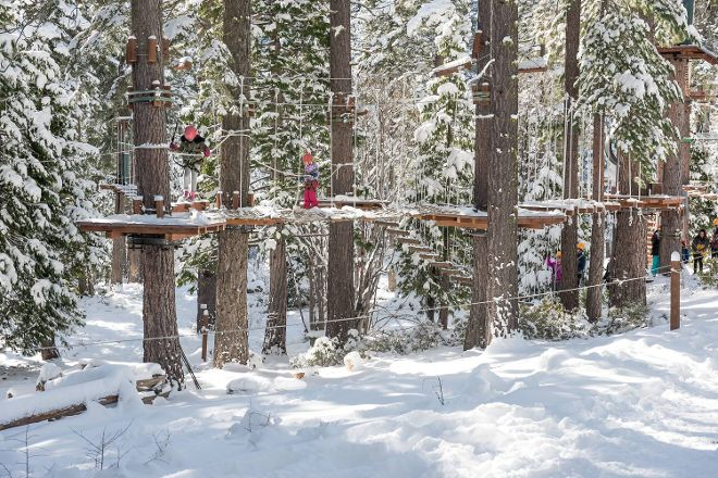 Tahoe Treetop Adventure Parks, Tahoe City, United States