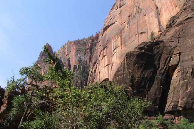 Temple of Sinawava Trail, Zion National Park, United States