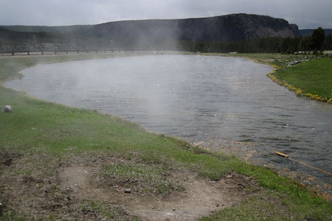 Terrace Spring, Yellowstone National Park, United States