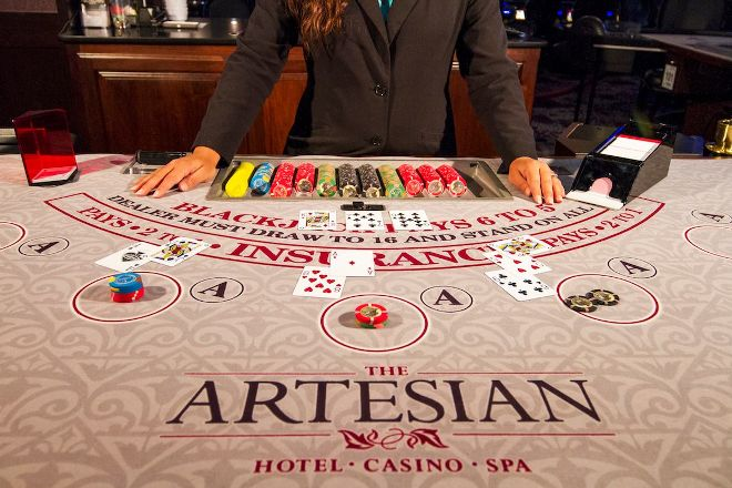 The Artesian Hotel Casino, Sulphur, United States