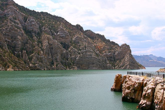 The Buffalo Bill Reservoir, Cody, United States