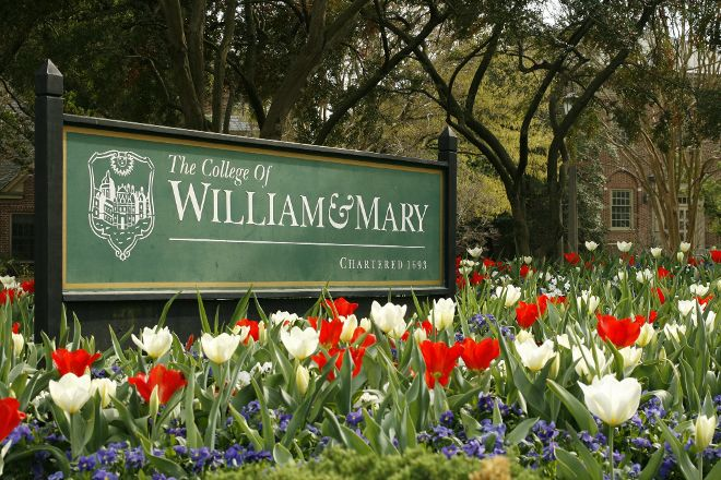 College of William & Mary, Williamsburg, United States
