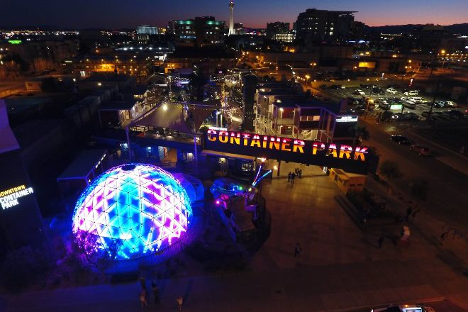 The Dome At Container Park, Las Vegas, United States