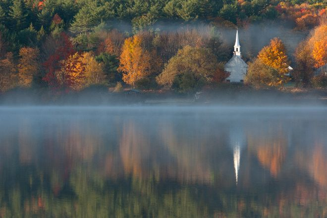 The Little White Church, Eaton, United States
