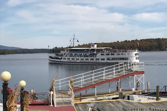 The M/S Mount Washington, Weirs Beach, United States