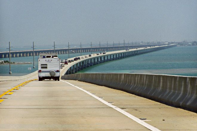 The Overseas Highway, Key West, United States