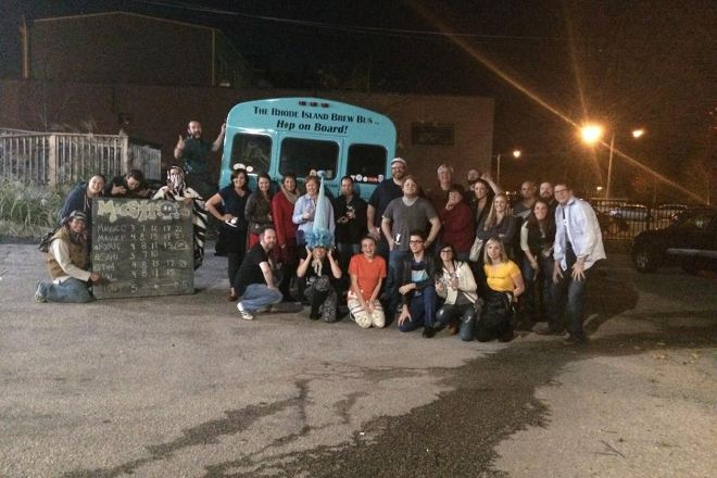 The Rhode Island Brew Bus, Providence, United States