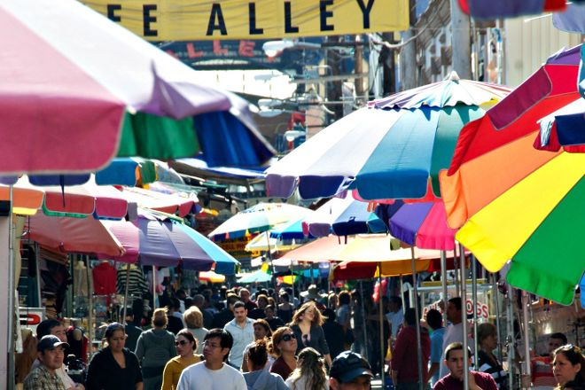 The Santee Alley, Los Angeles, United States