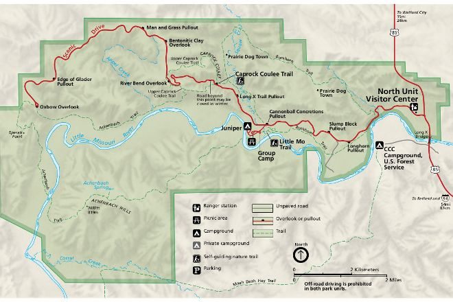 Theodore Roosevelt National Park, Medora, United States