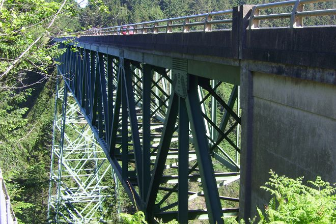 Thomas Creek Bridge, Brookings, United States