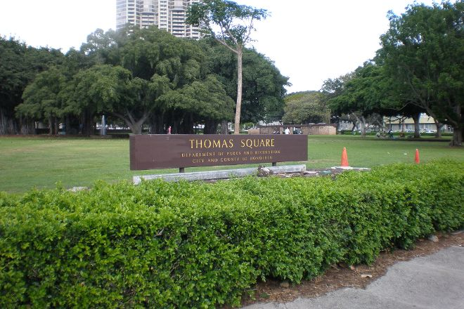 Thomas Square, Honolulu, United States