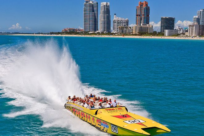 Thriller Miami Speedboat Adventures, Miami, United States