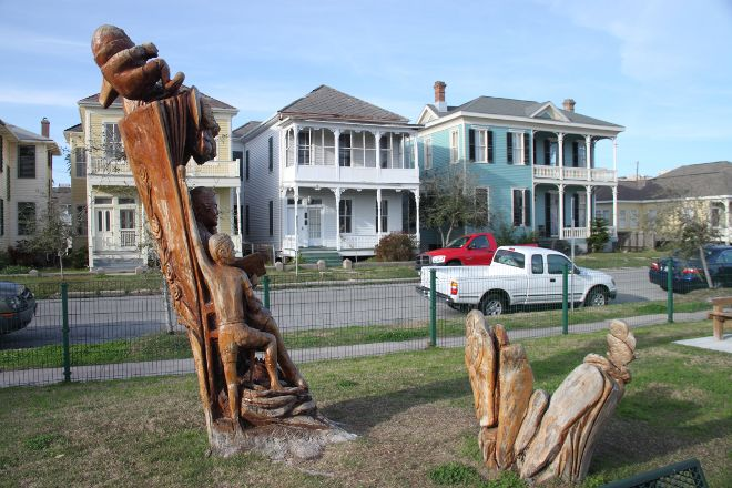 Tree Sculptures, Galveston, United States