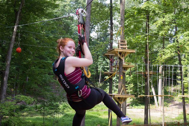 TreeRunner Raleigh Adventure Park, Raleigh, United States