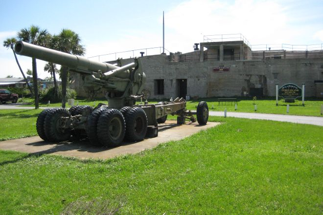 Tybee Island Museum - Battery Garland, Tybee Island, United States