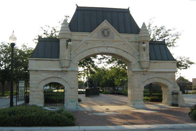 Union Stockyard Gate, Chicago, United States